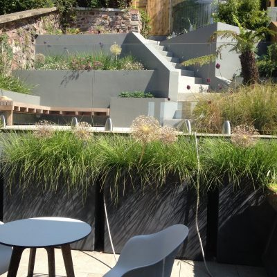 Bristol Roof Garden - Collaboration - Katherine Roper Garden Design | Alicia Savage | Garden Design