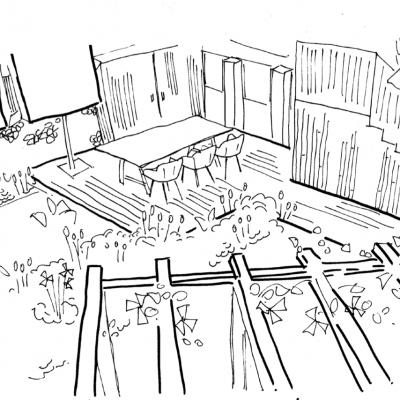 Town Garden Pergola
