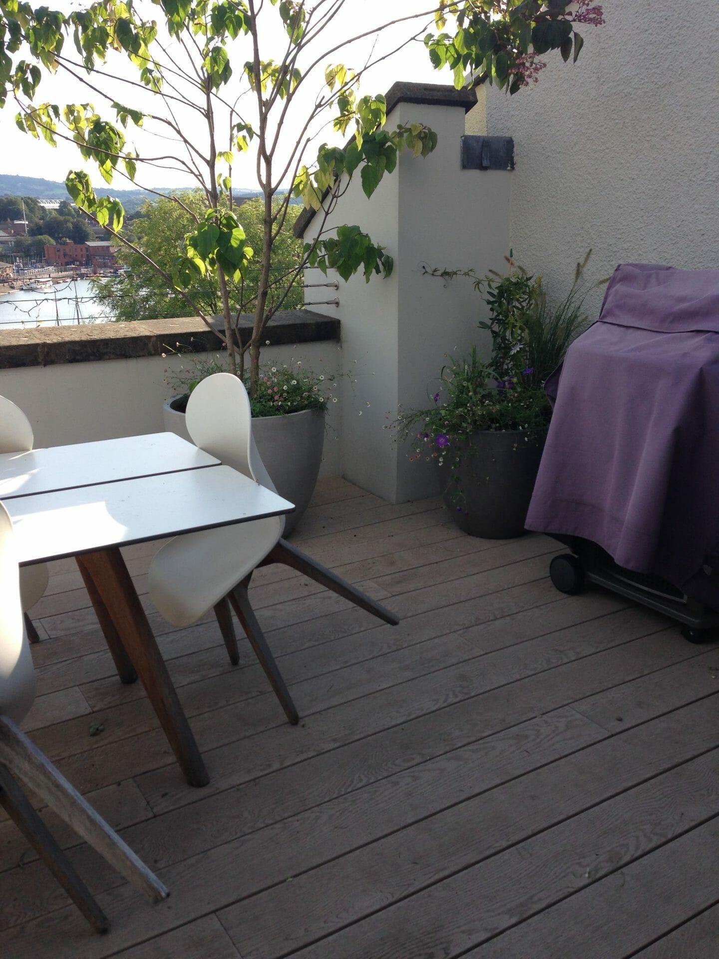 Bristol Roof Garden BBQ Area