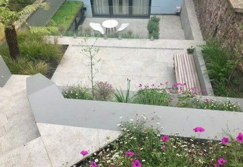 Bristol Roof Garden Geraniums
