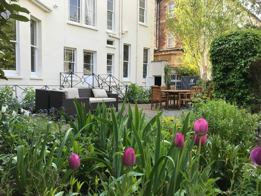 Formal Garden Spring seating