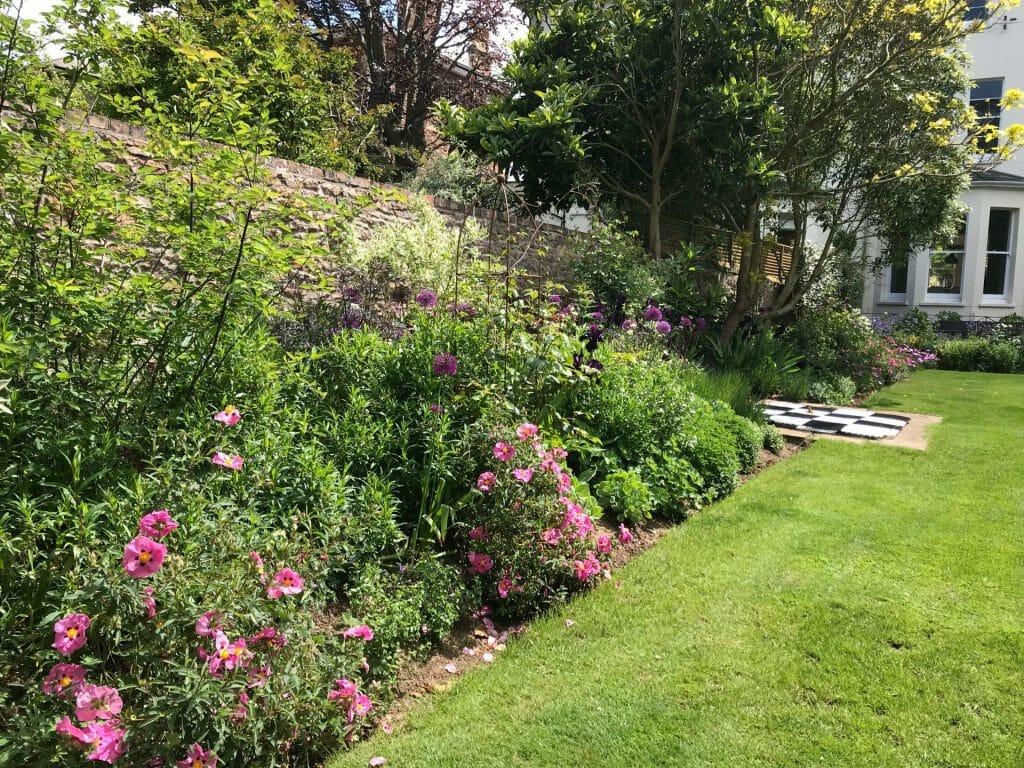 Formal Garden Summer border
