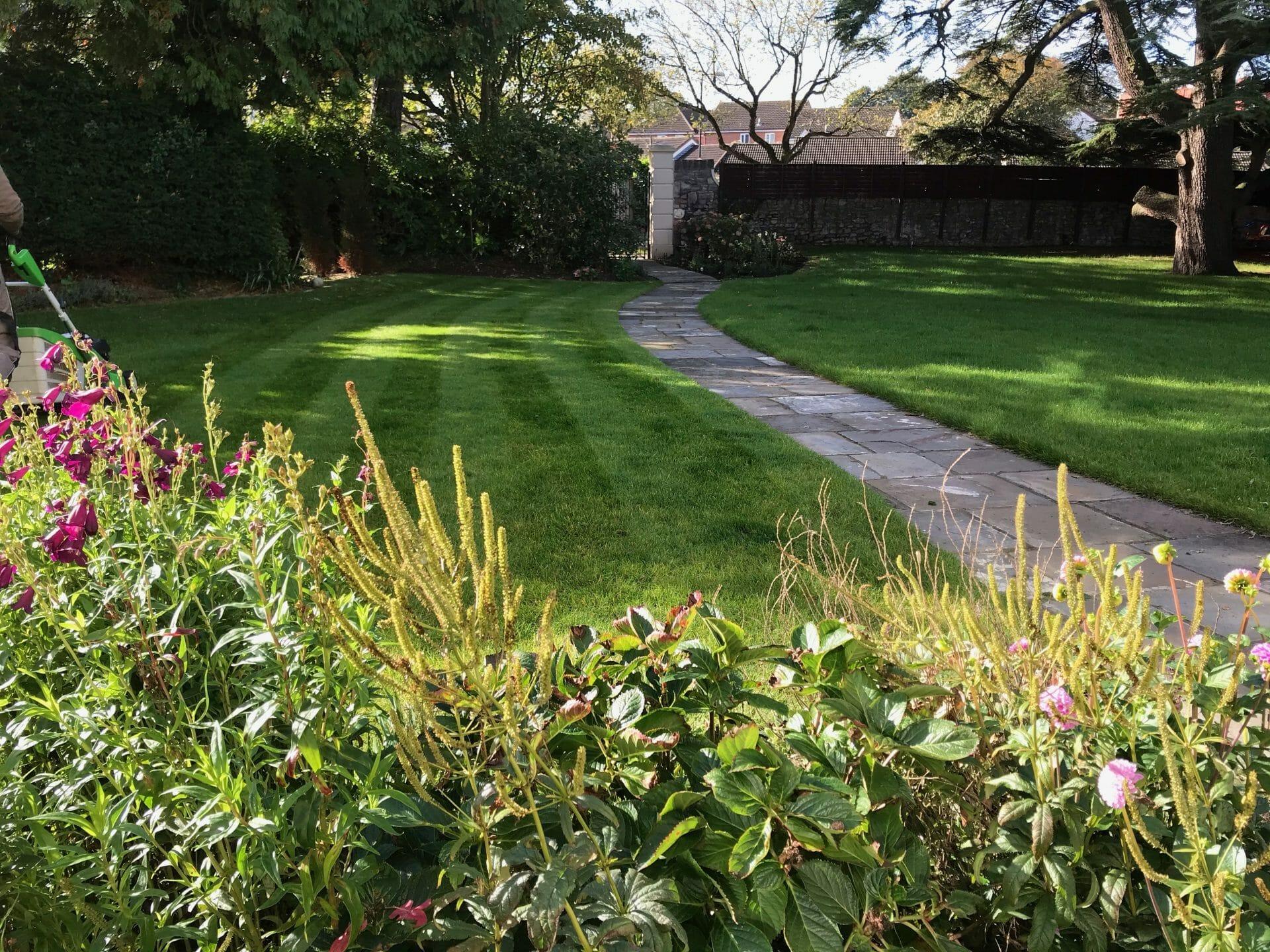 Historic Garden winding path
